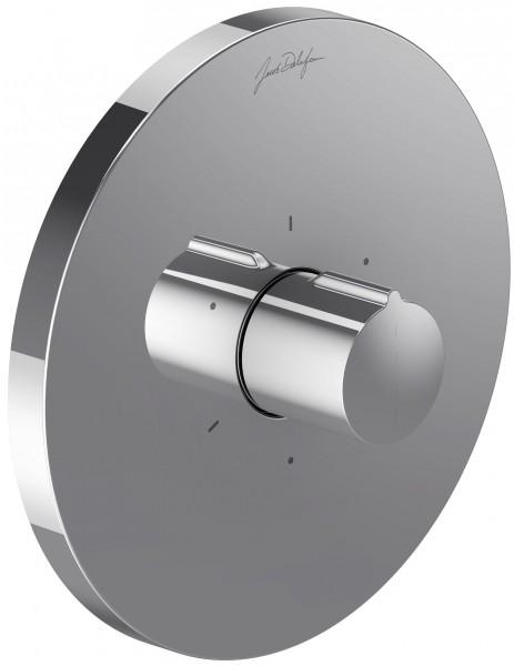 Внешняя часть Jacob Delafon Modulo Round E98735-CP (E19302-CP) запорно-переключающего устройства на три потребителя