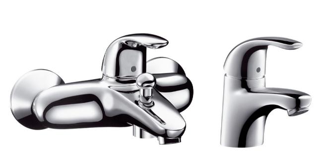 Комплект смесителей Hansgrohe Focus E 31740000+31700000