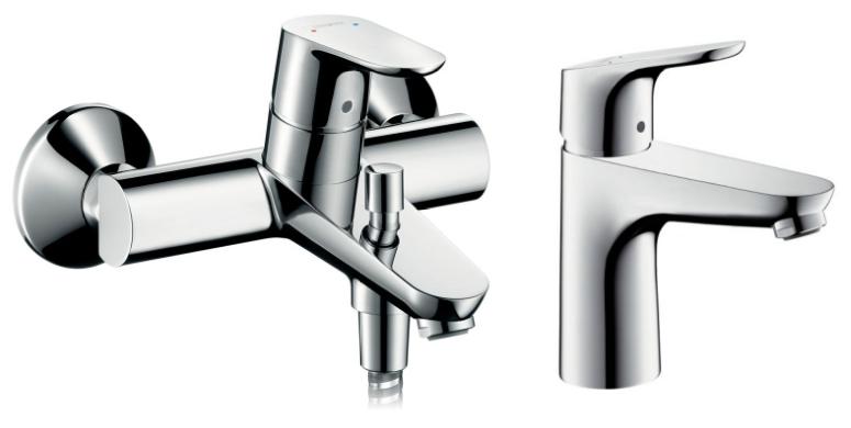 Комплект смесителей Hansgrohe Focus Е2 3194000+31607000