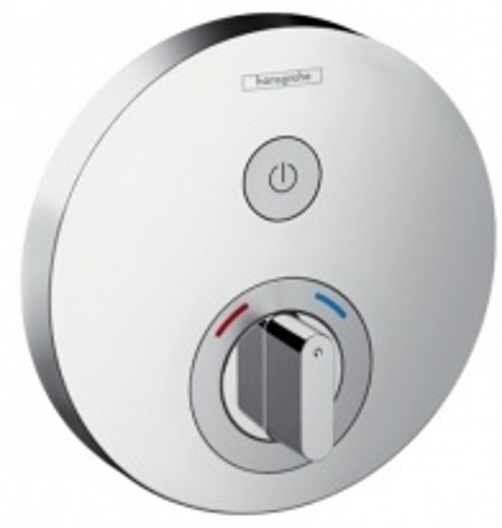 Смеситель для душа Hansgrohe ShowerSelect S термостатический, для 1 потребителя, 15747000