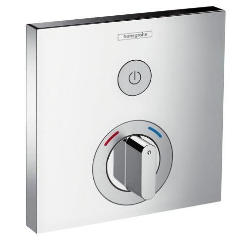 Смеситель для душа Hansgrohe ShowerSelect термостатический, для 1 потребителя, 15767000