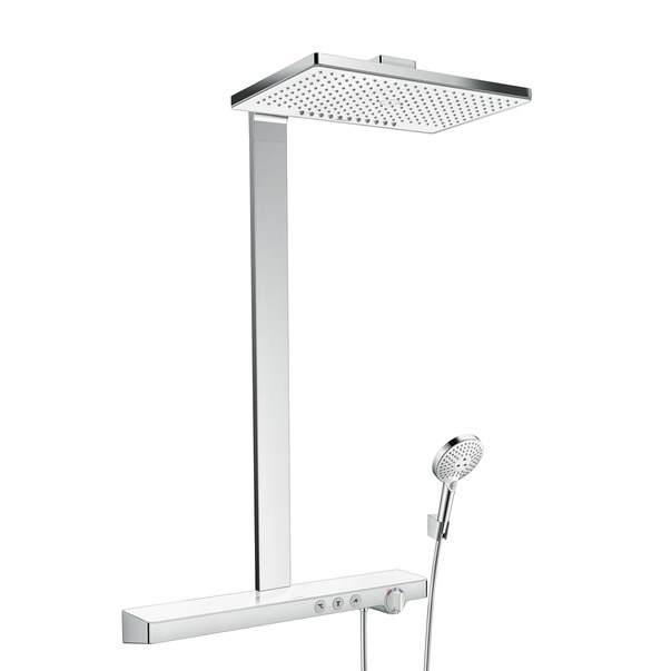 Душевая система Hansgrohe Rainmaker Select 460 2jet Showerpipe EcoSmart 27028400