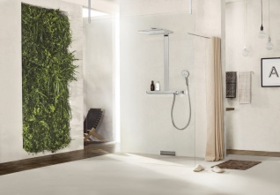 Душевая система Hansgrohe Rainmaker Select 460 2jet Showerpipe 27109400