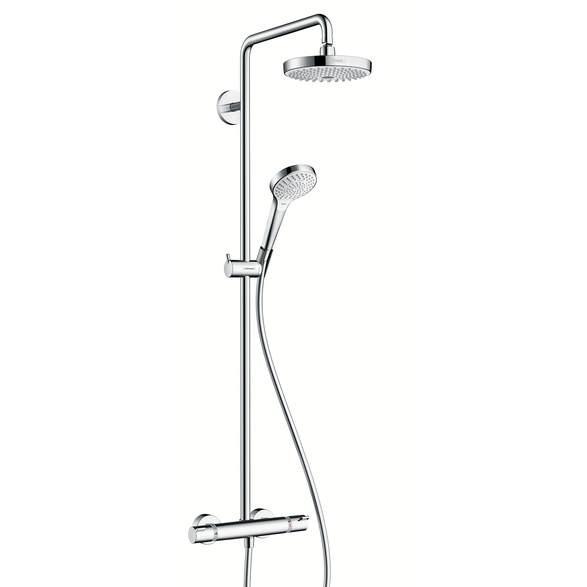 Душевая система Hansgrohe Croma Select S 180 2jet Showerpipe EcoSmart 27254400