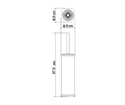 Щетка для унитаза WasserKraft К-1117 напольная