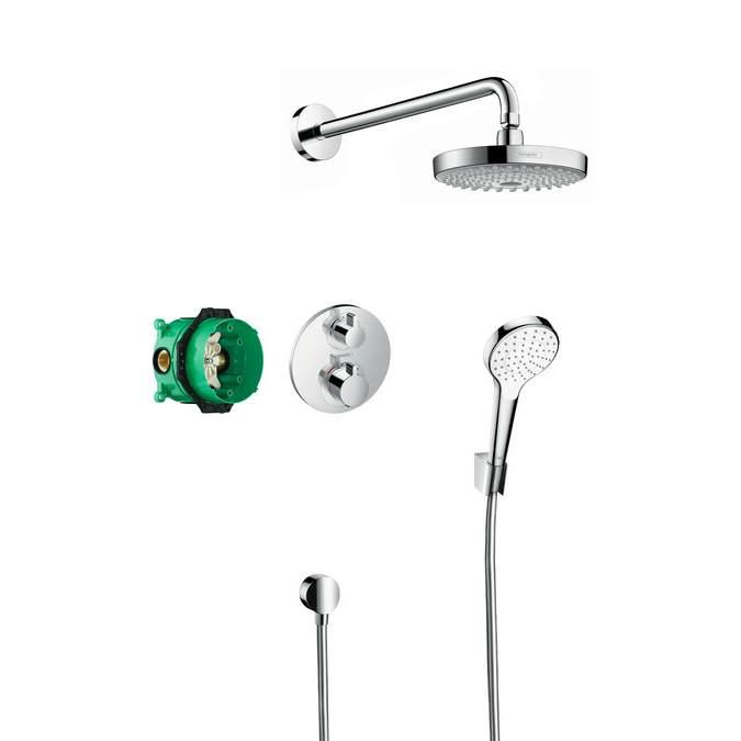 Душевой набор Hansgrohe Croma Select S / Ecostat S 27295000
