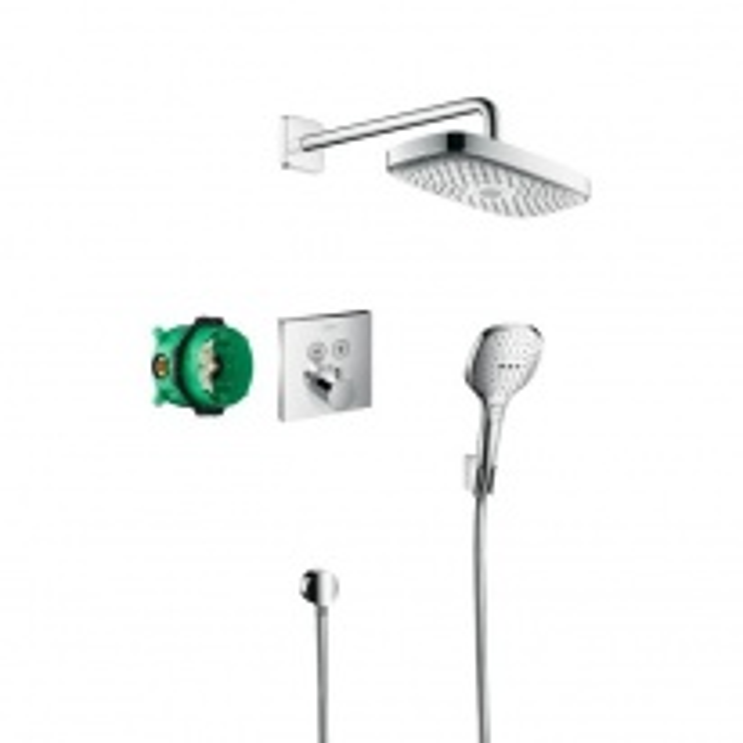 Душевой набор Hansgrohe Select E/ShowerSelect 27296000