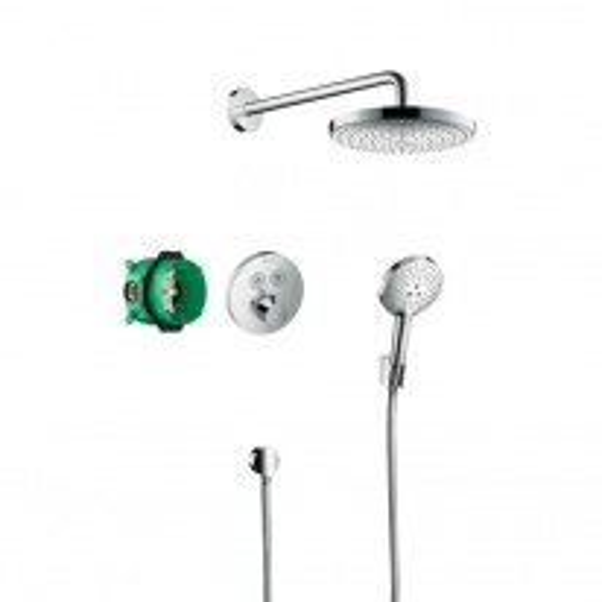 Душевой набор Hansgrohe Raindance Select S/ShowerSelect S 27297000