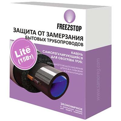 Защита от замерзания Теплолюкс Freezstop Lite-15-20 бытовых трубопроводов, длина 20 м., 15 Вт, 4305110615000012