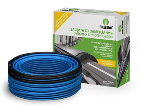 Секция нагревательная кабельная Freezstop Simple Heat-18-24,5, длина 24.5 м, 4305110610000019