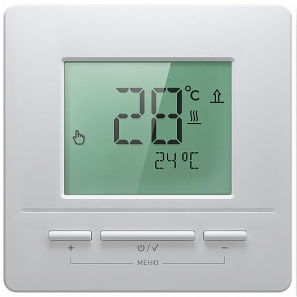 Терморегулятор для теплого пола Национальный комфорт ТР 711 белый 4305651108000003
