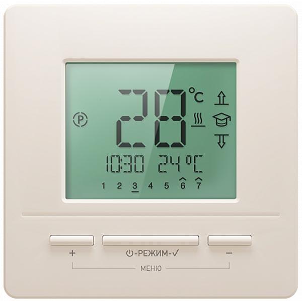 Терморегулятор для теплого пола Национальный комфорт ТР 721 кремовый 4305651114000004