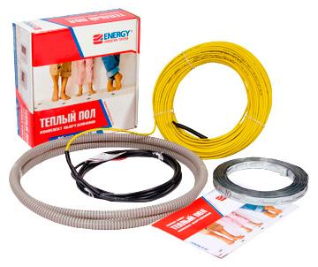 Теплый пол Energy Cable 1700 Вт, площадь обогрева 15,0-17,0 м2, длина 100,4 м