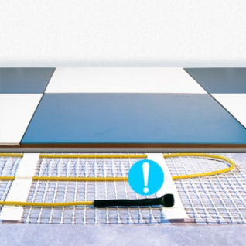 Теплый пол Energy Mat 2,14 - 340 Вт, площадь обогрева 2,14 м2, длина 4,20 м