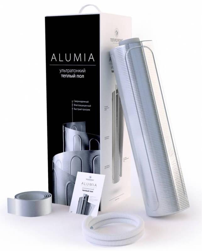 Теплый пол Теплолюкс Alumia 375-2.5: площадь обогрева 2,5 кв. м., 150 Вт/м
