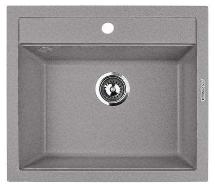 Кухонная мойка Lava Q2.SCA, цвет SCANDIC серый, 56*50,5 см