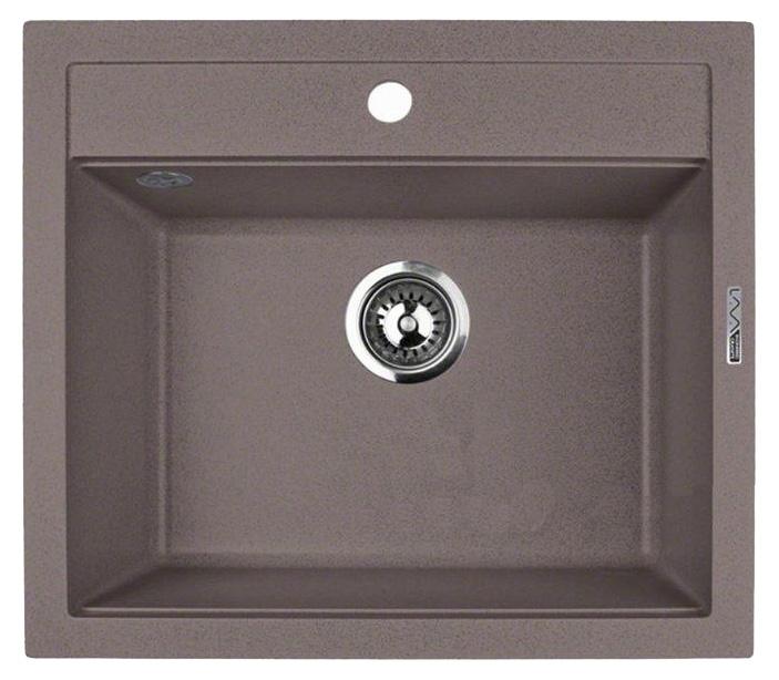 Кухонная мойка Lava Q2.SAH, цвет SAHARA бежевый, 56*50,5 см