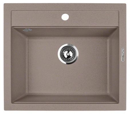 Кухонная мойка Lava Q2.DUN, цвет DUNE светлый беж, 56*50,5 см