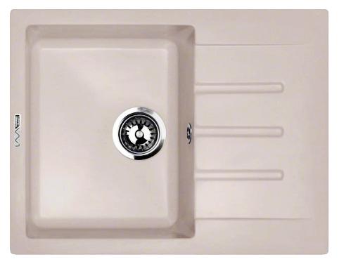 Кухонная мойка Lava L1.DUN, цвет DUNE светлый беж