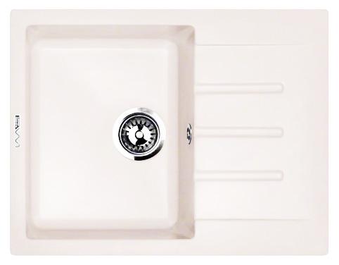 Кухонная мойка Lava L1.LAT, цвет LATTE белый