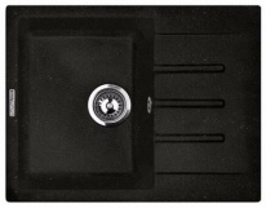 Кухонная мойка Lava L1.LAV, цвет LAVA чёрный металлик