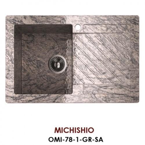 Мойка Omoikiri Michishio OMI-78-1-GR-SA, песочный