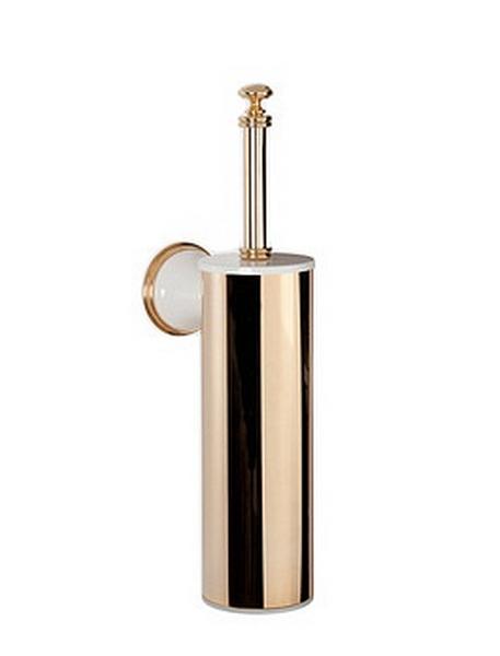 Ершик для туалета ALL.PE Harmony HA220bi/oro, белый/золото