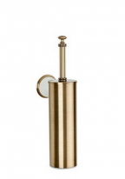 Ершик для туалета ALL.PE Harmony HA220bi/br, белый/бронза