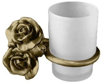 Стакан для щеток Art&Max Rose AM-0914-B, бронза