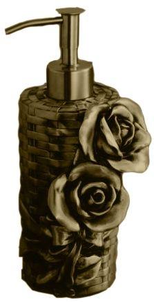 Дозатор мыла Art&Max Rose AM-0091A-B, бронза