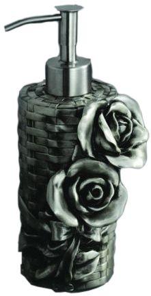 Дозатор мыла Art&Max Rose AM-0091A-T, серебро