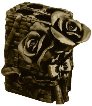 Подставка для зубных щеток Art&Max Rose AM-0091B-B, бронза