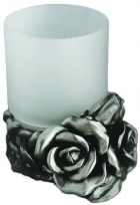 Стакан Art&Max Rose AM-0091D-T, серебро