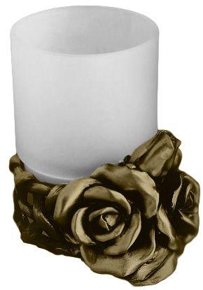 Стакан Art&Max Rose AM-0091D-B, бронза