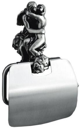 Бумагодержатель Art&Max Rоmantic AM-0819-T, серебро VSTV