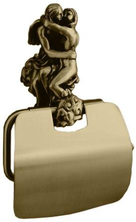 Бумагодержатель Art&Max Rоmantic AM-0819-B, бронза