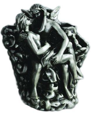 Подставка для зубных щеток Art&Max Rоmantic AM-0081B-T, серебро
