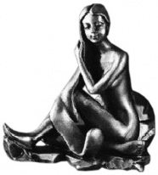 Крючок Art&Max Juno AM-0712-T, серебро