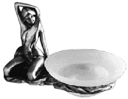 Мыльница Art&Max Juno AM-0071C-T, серебро
