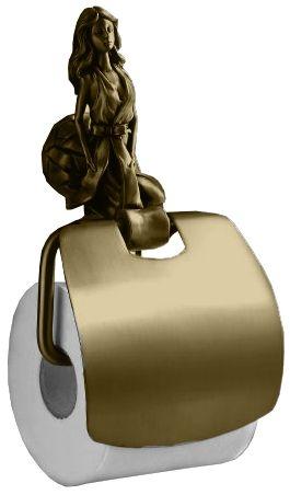 Бумагодержатель Art&Max Athena AM-0619-B, бронза
