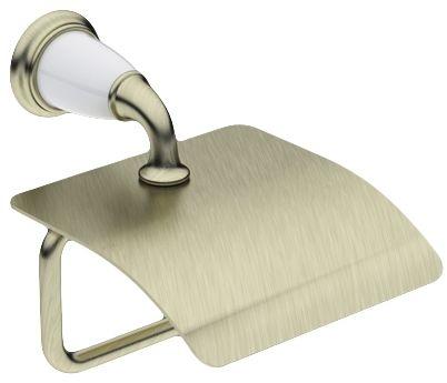Держатель туалетной бумаги Art&Max Bianchi (Бьянки), арт. AM-3683AW-Br, бронза