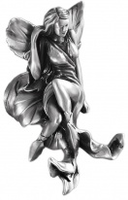 Крючок Art&Max Fairy AM-0982-T, серебро