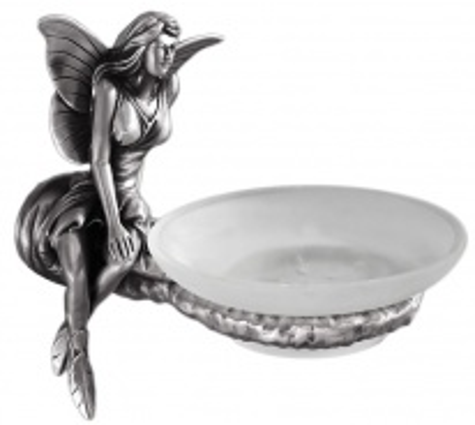 Мыльница Art&Max Fairy AM-0985-T, серебро