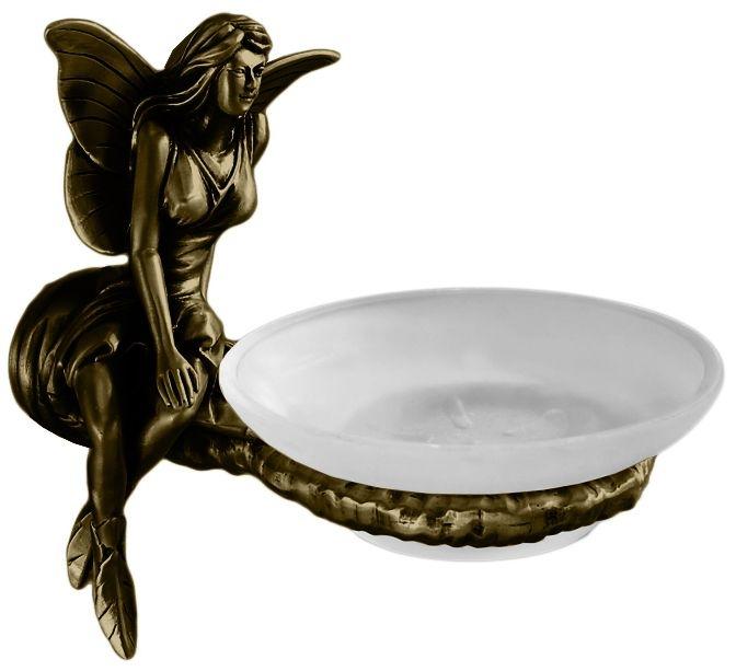 Мыльница Art&Max Fairy AM-0985-B, бронза