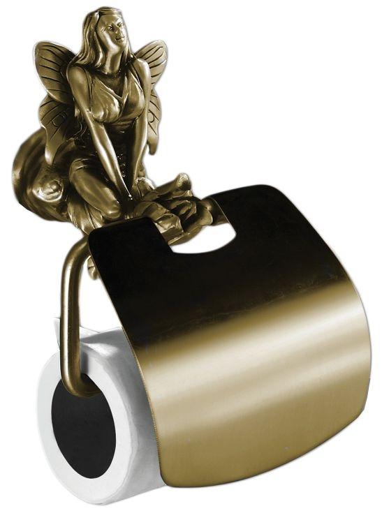 Держатель для туалетной бумаги Art&Max Fairy AM-0989-B, бронза
