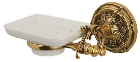 Мыльница Art&Max Barocco AM-1786-Do-Ant, античное золото