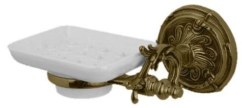 Мыльница Art&Max Barocco AM-1786-Br, бронза
