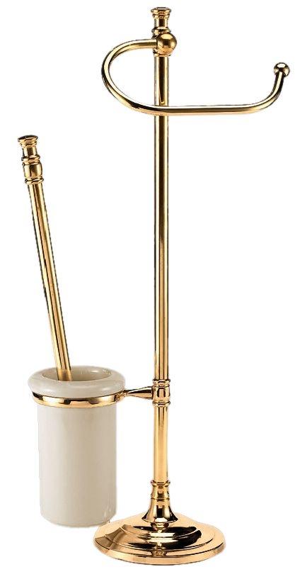 Стойка для унитаза и биде Art&Max Barocco AM-1948-Do-Ant 15х57 см, античное золото