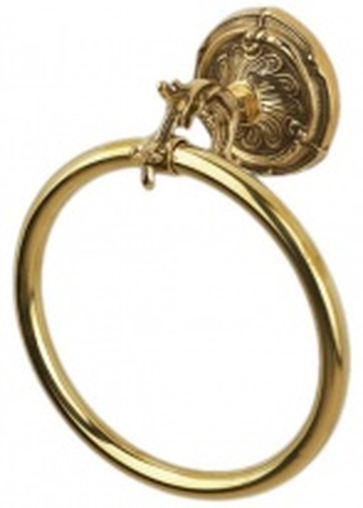 Полотенцедержатель Art&Max Barocco Crystal AM-1783-Do-Ant -C, античное золото