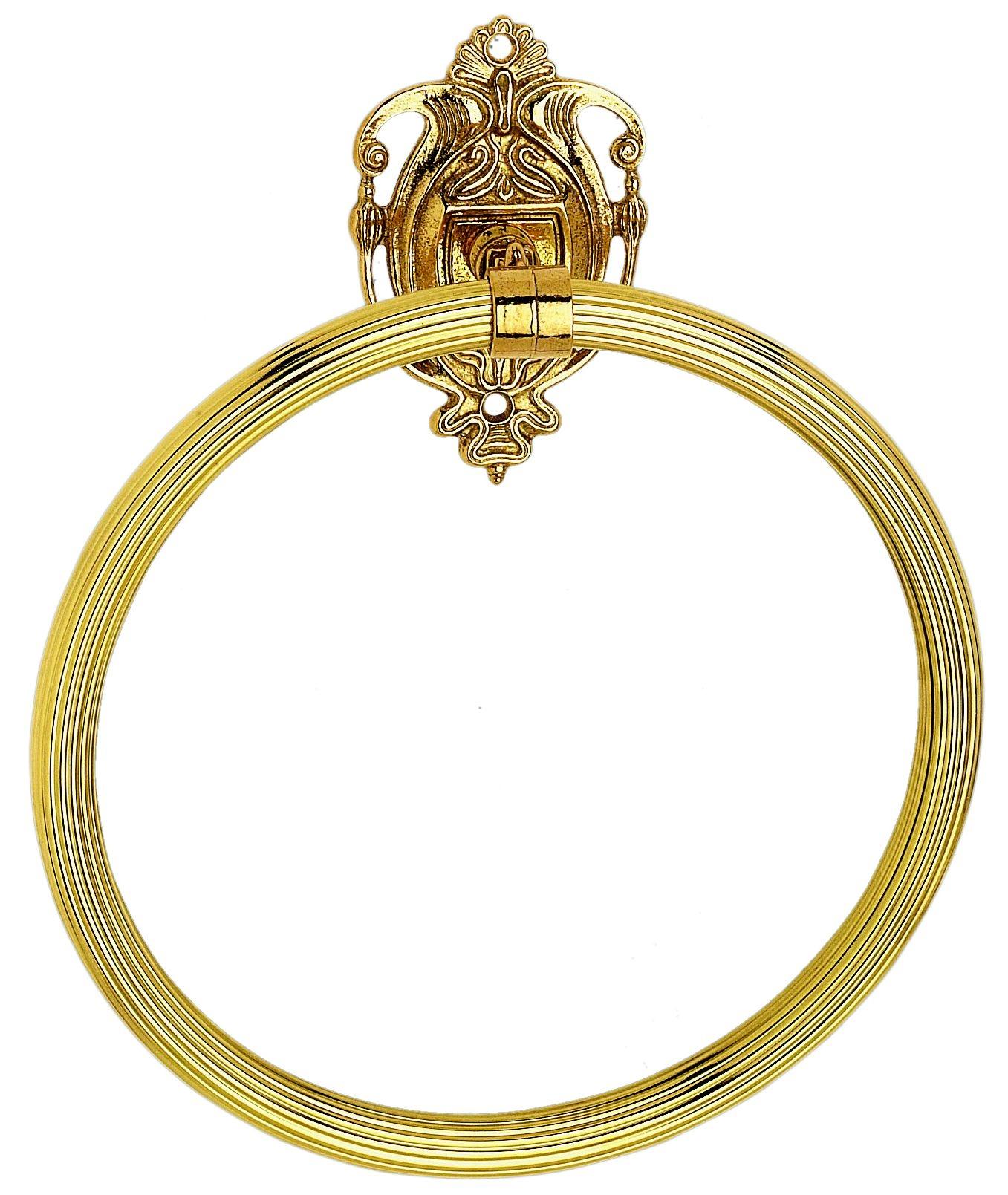 Полотенцедержатель кольцо Art&Max Impero AM-1231-Do-Ant, античное золото